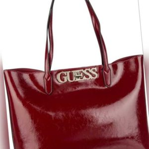 Guess Shopper Uptown Chic Patent Barcelona Tote Merlot ab 110.00 (129.00) Euro im Angebot