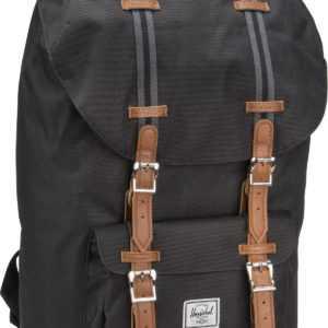Herschel Laptoprucksack Little America Black/Black/Tan (25 Liter) ab 94.90 (109.00) Euro im Angebot
