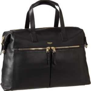 Knomo Aktentasche Mayfair Luxe Audley 14'' RFID Black ab 299.00 () Euro im Angebot