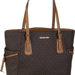 Michael Kors Handtasche Voyager EW Signature Tote Coated Twill Brown ab 249.00 () Euro im Angebot