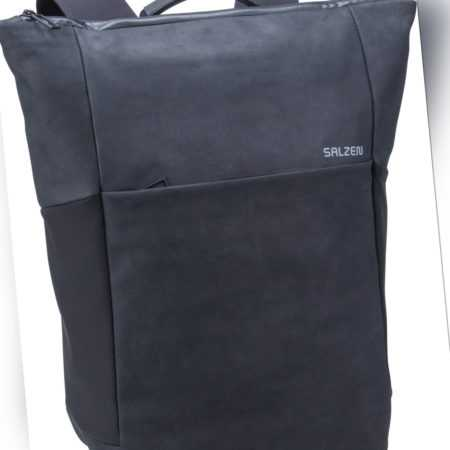 Salzen Rucksack / Daypack Plain Backpack Leather Charcoal Black (21 Liter) ab 305.00 () Euro im Angebot