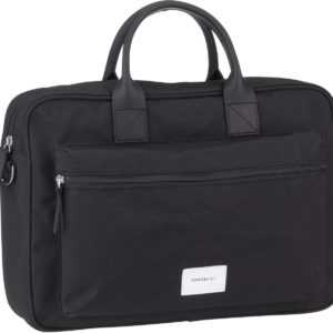 Sandqvist Aktentasche Emil Briefacse Black/Black Leather ab 129.00 () Euro im Angebot