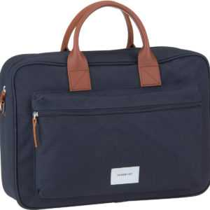 Sandqvist Aktentasche Emil Briefacse Navy/Cognac Brown Leather ab 129.00 () Euro im Angebot