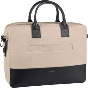 Sandqvist Aktentasche Seth Twill Briefcase Beige Twill/Navy Leather (10 Liter) ab 279.00 () Euro im Angebot