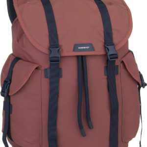 Sandqvist Rucksack / Daypack Charlie Backpack Maroon/Navy Leather (16 Liter) ab 149.00 () Euro im Angebot