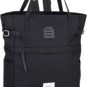 Sandqvist Rucksack / Daypack Roger Totepack Black/Black Leather ab 129.00 () Euro im Angebot