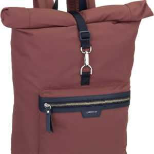 Sandqvist Rucksack / Daypack Siv Backpack Maroon/Navy Leather ab 149.00 () Euro im Angebot
