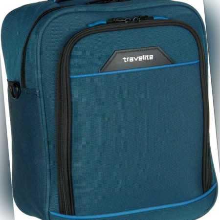 travelite Aktentasche Derby Bordtasche Blau (18 Liter) ab 20.90 (24.95) Euro im Angebot