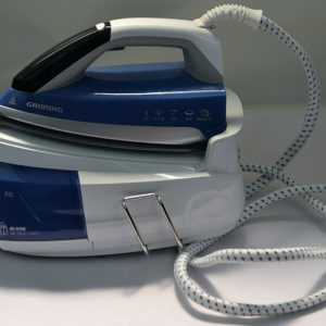 Dampfbügelstation Grundig SIS 8670 1 L Blau, Weiß (Q277)