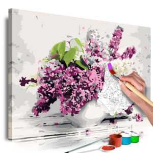 Malen nach Zahlen Erwachsene Wandbild Malset mit Pinsel Malvorlagen n-A-0528-d-a