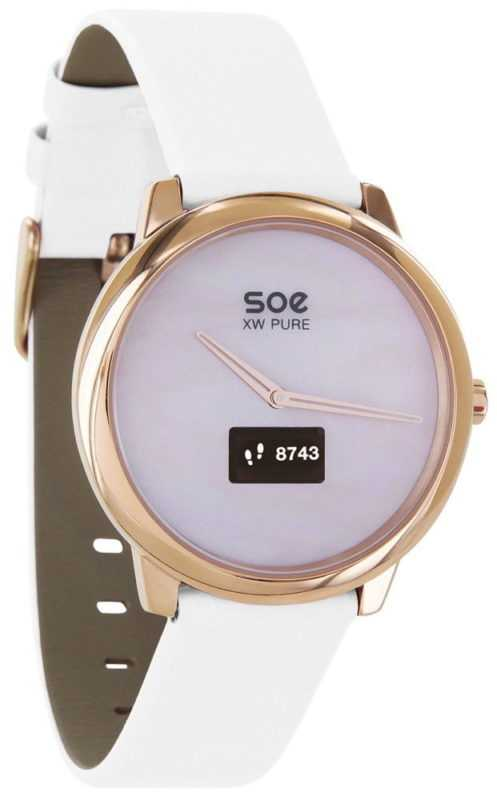 Xlyne Pro Smartwatch X-Watch Soe XW Pure gold Android IOS polar white