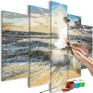Malen nach Zahlen Erwachsene Wandbild Malset mit Pinsel Malvorlagen n-A-0657-d-m
