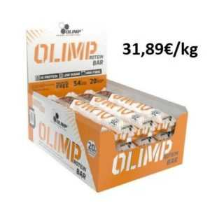 Olimp Protein Bar 12x64g leckerer Eiweißriegel wenig Zucker