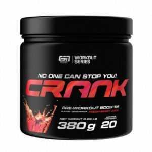 ESN Crank 380g - Pre Workout Booster - Alle Geschmäcker