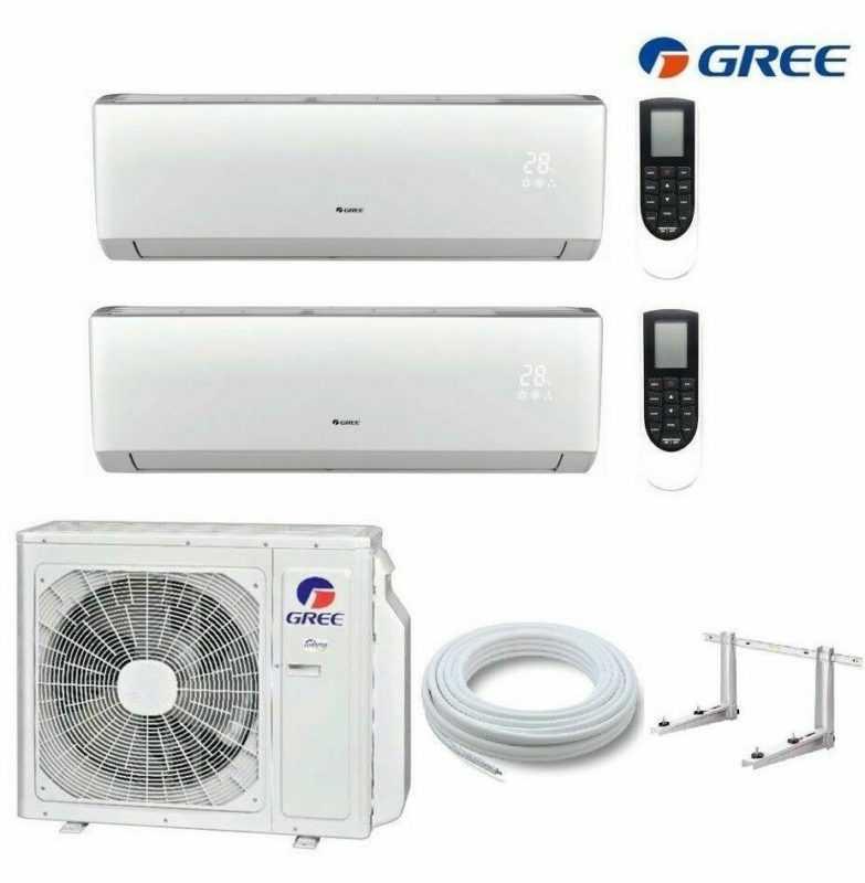 Gree Multisplit Lomo Luxury 2-Raum Klimaanlage 2 x 3,5 kW R32 A++ WiFi