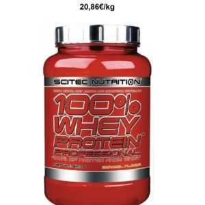 Scitec Nutrition 100% Whey Protein Professional 920g Eiweiss