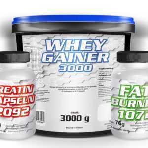 8,5€/Kg WHEY GAINER Eiweiß Aminosäuren Pulver Muskelaufbau Kohlenhydrate Protein