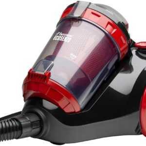 Bestron ABL900BRE Cyclon Ecosenzo Staubsauger 1200W Beutellos 1,5L Black Red