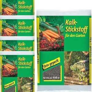 1,94€/KG - Kalkstickstoff 5kg (5x) fein geperlt Garten Dünger Gemüse Kompo