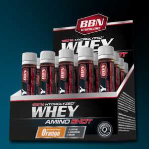53,50€/Ltr) Best Body Nutrition Hardcore Whey Amino Shot 20 x 25ml Ampullen