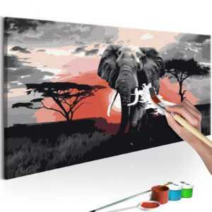 Malen nach Zahlen Erwachsene Wandbild Malset mit Pinsel Malvorlagen n-A-0263-d-a