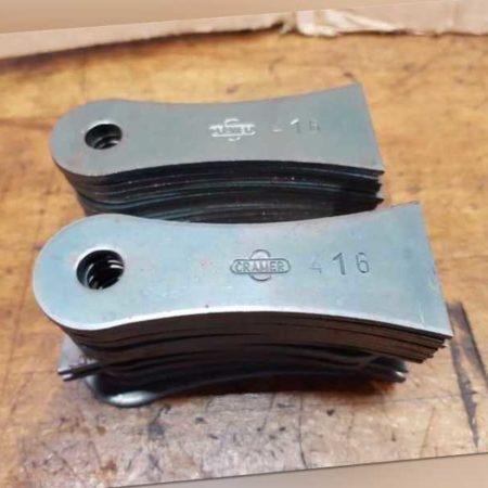 original Cramer Vertikutierer Messer 27 Stk Vertikutiermesser Cara 38 Messersatz