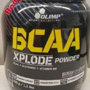(45,00€/kg) Olimp BCAA Xplode Powder 500g + L-Glutamin + Vitamin B6 PLUS PROBE