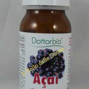 Dottorbio Açai Gefriergetrocknete Bio 40 Tabletten 900mg Stärkungsmittel