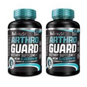 Arthro Guard 2 x 120 Tabletten von BioTech USA für Gesunde Gelenke + Bonus