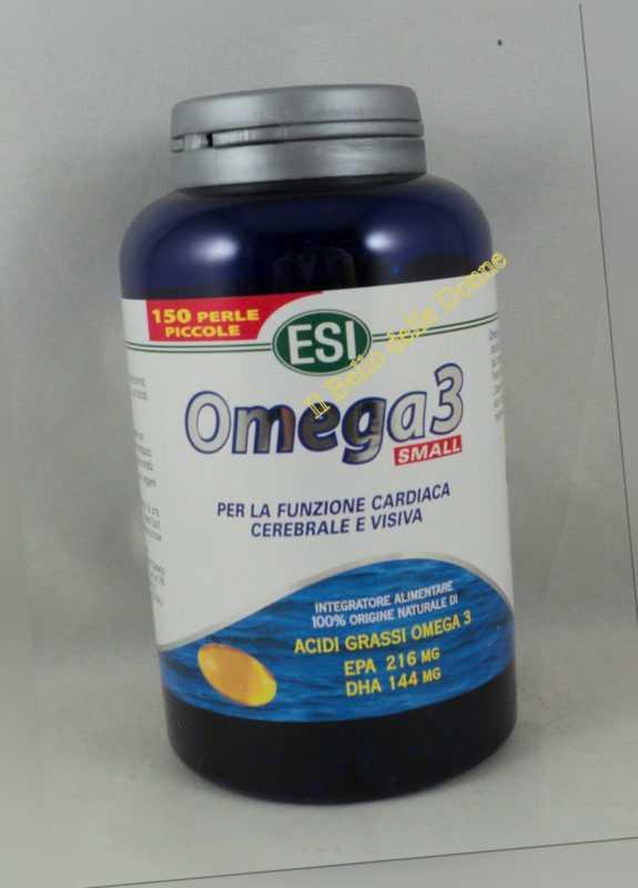 Esi Omega-3- Small 150 Perlen Gemüse Kleine Geschmack Orange X Herz Säuren Fett