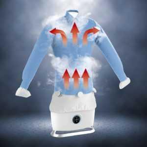 Dampfbügelautomat Hemdenbügler Dampffunktion Bügelpuppe Bügelstation CLEANmaxx
