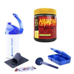 8,80€/100g Mutant Madness 30 Portionen 225g Energie Sport Fitness + BONUS