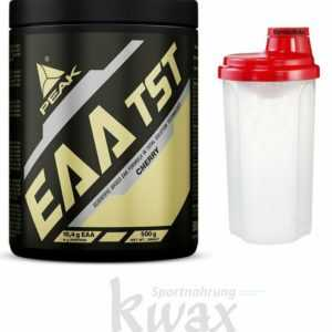 (47,60 Euro/Kg) Peak EAA TST - TS-Technology Aminosäuren - 500g + Shaker gratis