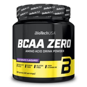 (EUR 55,28/kg) BioTech USA - BCAA Flash ZERO, 360g - Aminosäure, Muskelaufbau -