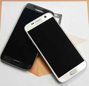 SAMSUNG GALAXY S7 SM-G930F - 32GB - SMARTPHONE - SCHWARZ GOLD - WIE NEU