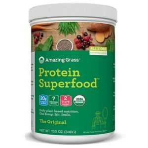Amazing Grass Protein Superfood 348 g Lean Muscle Energy Clean Plant Based