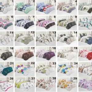 Bettwäsche 100% Baumwolle Renforce Sommer Bettgarnitur Set mit Reißverschluss