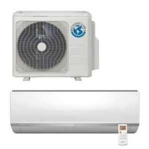Mundoclima Klimaanlage 2,6 kW Inverter Wandgeräte-Set A++; EEK A++