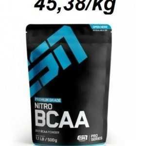 ESN Nitro BCAA Powder  500g Aminosäuren Leucin Valin Isoleucin