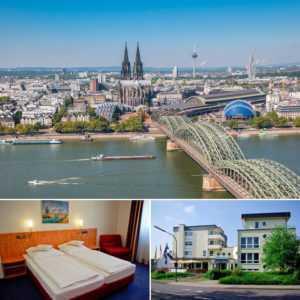 Köln Kurzeise 3★ Hotel für 2 Personen 3-4 Tage Städtereise Wochenende Kurzurlaub