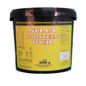 13,49€/kg Soja Protein GMO frei Soja Isolat 2000g Vanille VEGAN VERSANDFREI