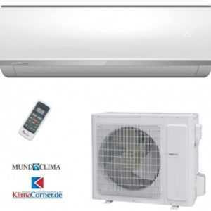Split Klimaanlage im Set - MundoClima MUPR-24-H6 6,4 kW Kühlen/7,1 kW Heizen ; EEK A+
