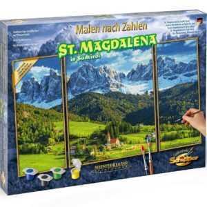Schipper 609260760 Malen nach Zahlen St.Magdalena in Südtirol