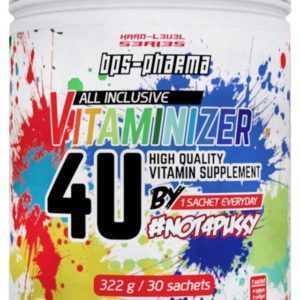 BPS Pharma - Vitaminizer 4U  30 Packs Multivitamin Mineralien Vitamin Zink 322g