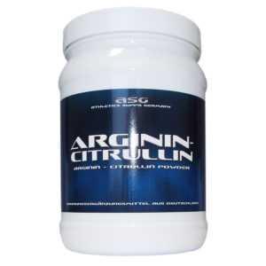 ASG Arginin - Citrullin 750 g reines  Aminosäuren Pulver 50:50 ohne Zusätze