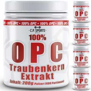 100% OPC Traubenkernextrakt Grape Seed vegan hochdosiert ohne Zusatz Haut Haare