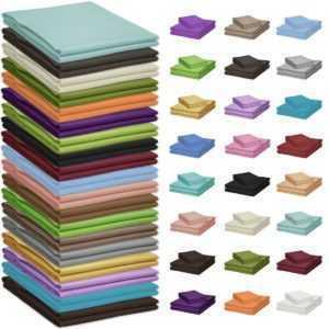 Nurtextil24 Tischdecke 100% Baumwolle mehreren Farben und Größen XXL Tischtuch