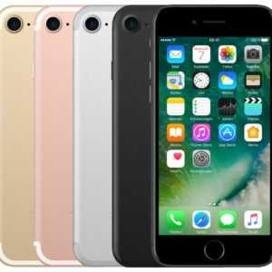 APPLE IPHONE 7 32GB 128GB 256GB SCHWARZ SILBER ROSE GOLD ROT DIAMANT - SEHR GUT