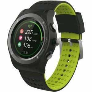 MEDIACOM SMARTWATCH V100 WATERPROOF GPS CLOCK CARDIO UND GESCHWINDIGKEIT KONTAKT