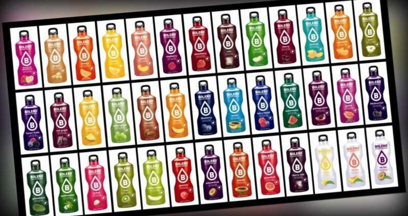 60 Sorten Bolero Starter Paket zuckerfrei kalorienarm inkl. Shaker Stevia vegan